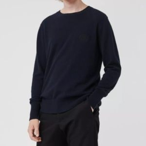 BURBERRY LONDON Men's Navy Blue Wool Sweater/M